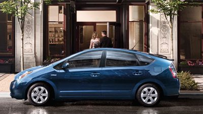 2008 Prius in Blue Mica color