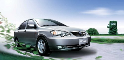 BYD F3DM Plug-In Hybrid Vehicle