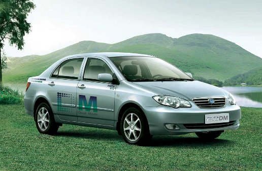 BYD F3DM Plug-In Hybrid Gasoline/Electric Car