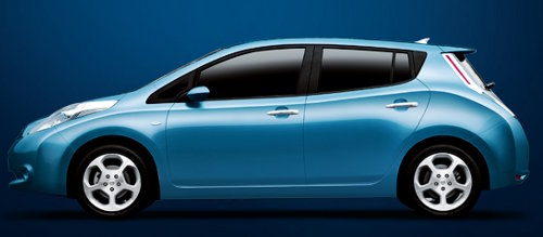 Nissan LEAF electric car (Image credit - Nissan)